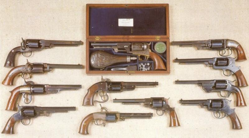 les armes de la guerre de secession Revolv11