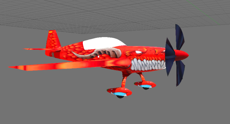 Projet : Un avion école de voltige, l'extra 300 L Damo10