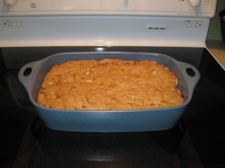 Gâteau aux pommes et aux pacanes avec sauce caramel Gateau10