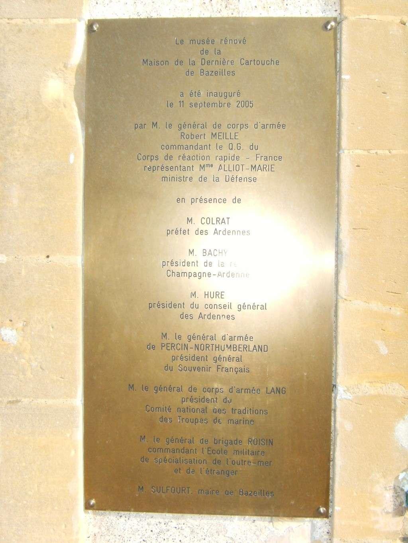 Ardennes: Maison de la Dernière Cartouche à Bazeilles Bazeil16