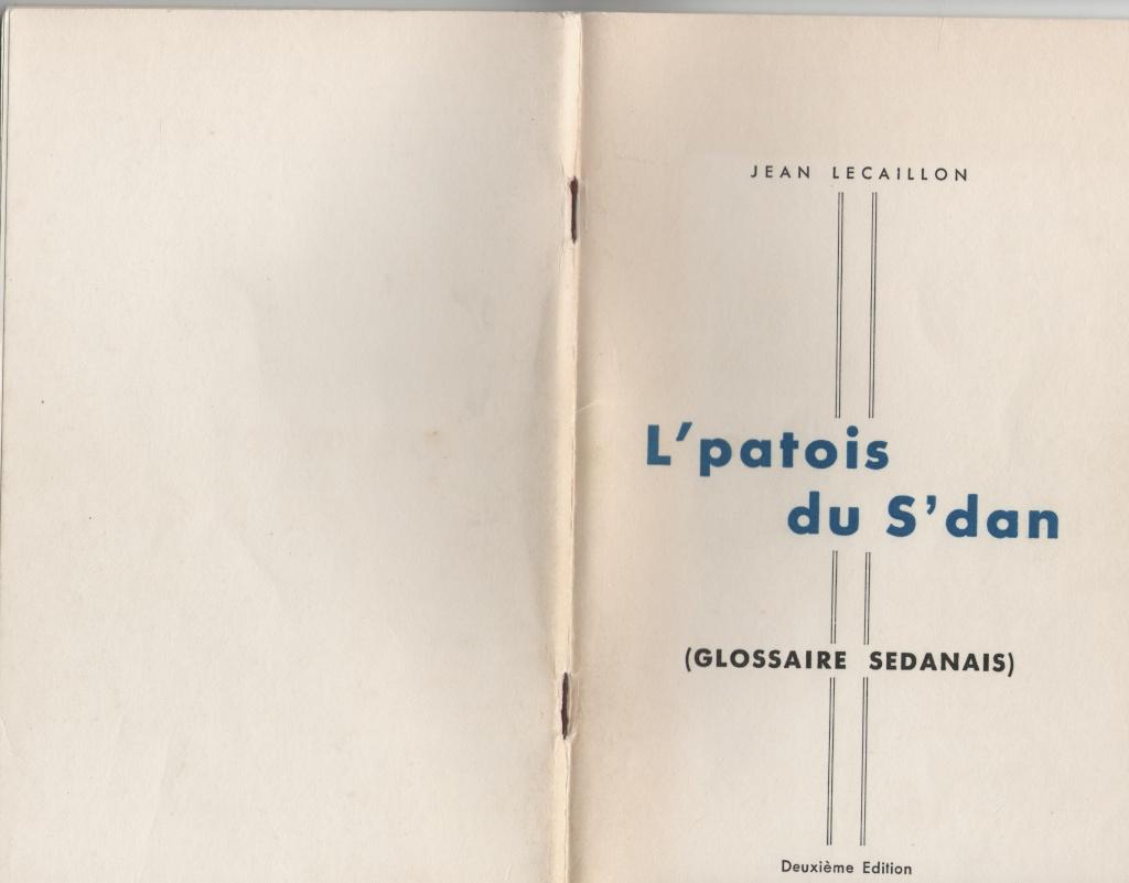 Le parler ardennais (le patois sedanais) S_dan11