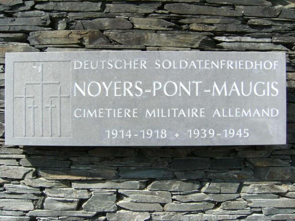 Le cimetière militaire allemand de Noyers-Pont-Maugis Sedan_14