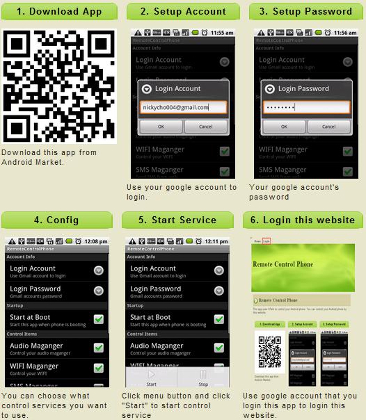 [SOFT] REMOTE PHONE CONTROL : Localisation, envoi de SMS, faire sonner, link push, ... [Gratuit] Remote10