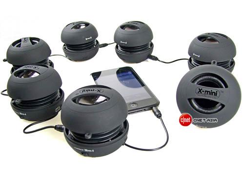 [MOBILEFUN.FR] Test d'une mini enceinte XMI X-Mini II sur Génération mobiles Xmini210