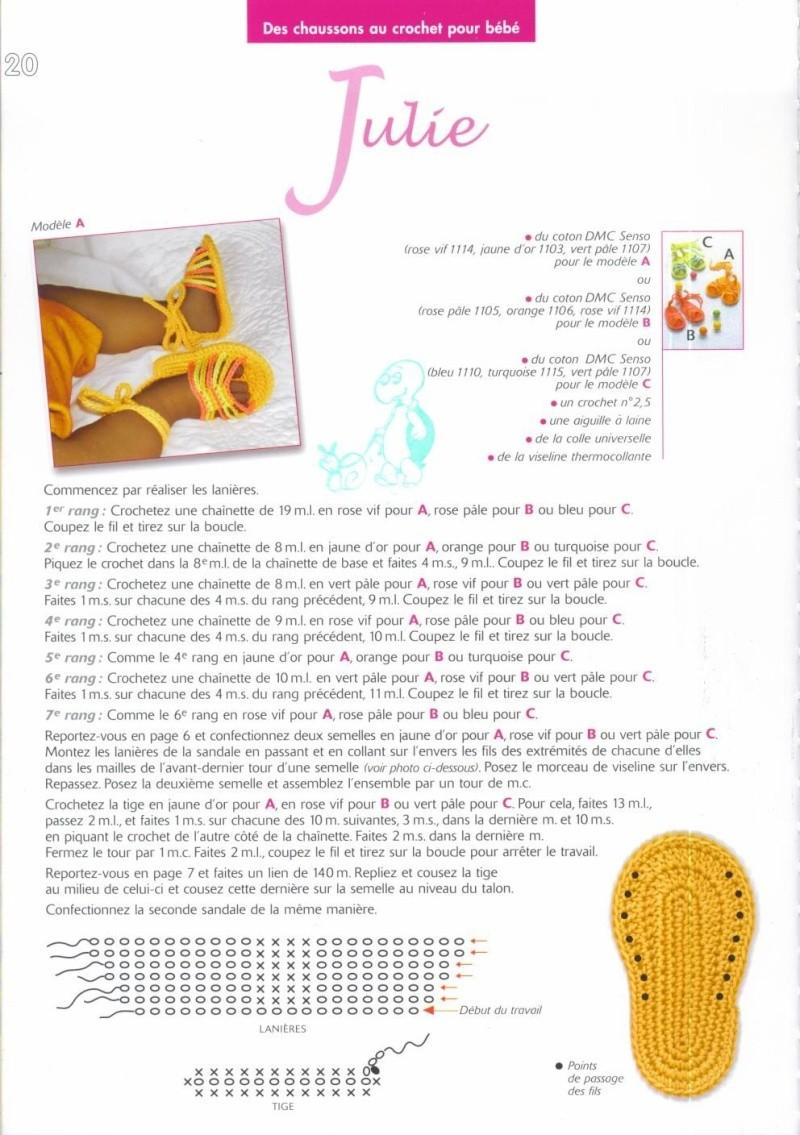 ZAPATITOS, PATUCOS PARA BEBE A GANCHILLO-CROCHET Chauss33