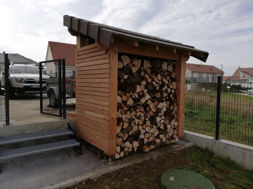 [ RÉALISATION ] UN ABRI DE STOCKAGE  pour bois  Img_2091