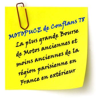 Le 19/09/2010 Moto-Puce Conflans Ste Honorine. Postit10