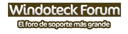 Windoteck Forum ha llegado Logowf10