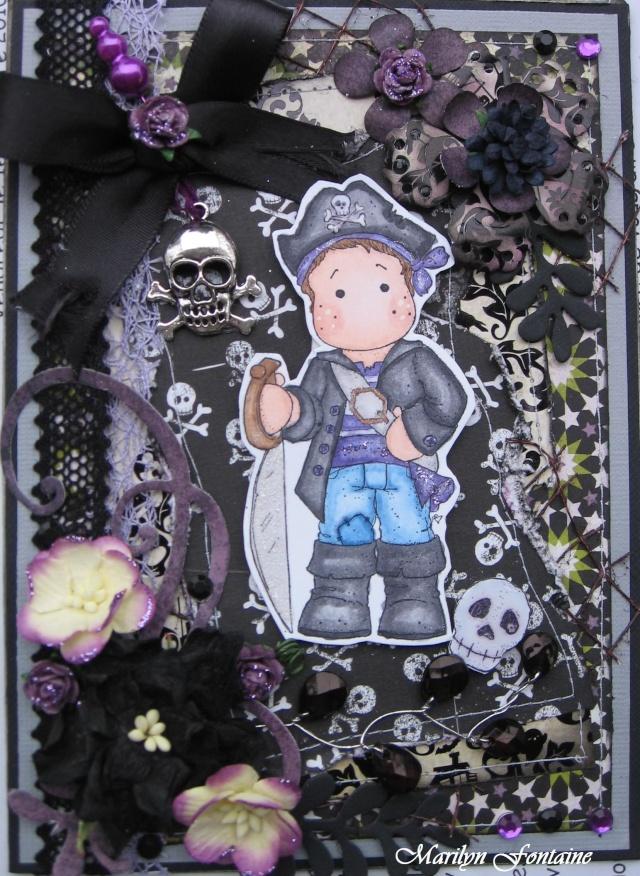 7 oct. Carte d'Halloween! 00711