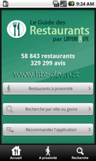 [SOFT] RESTAURANTS : 56000 Restaurants avec notation [Gratuit] R110