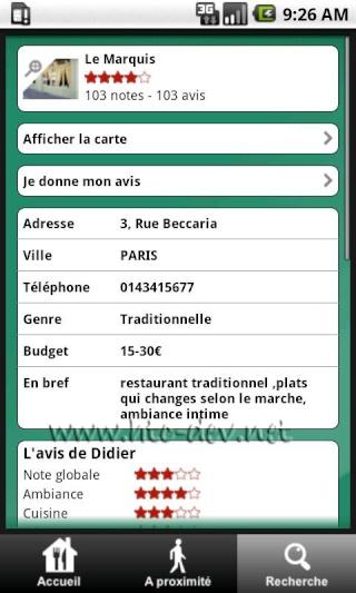 [SOFT] RESTAURANTS : 56000 Restaurants avec notation [Gratuit] R210