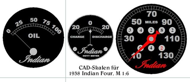 1938er Indian Four, M 1:6 Indian15