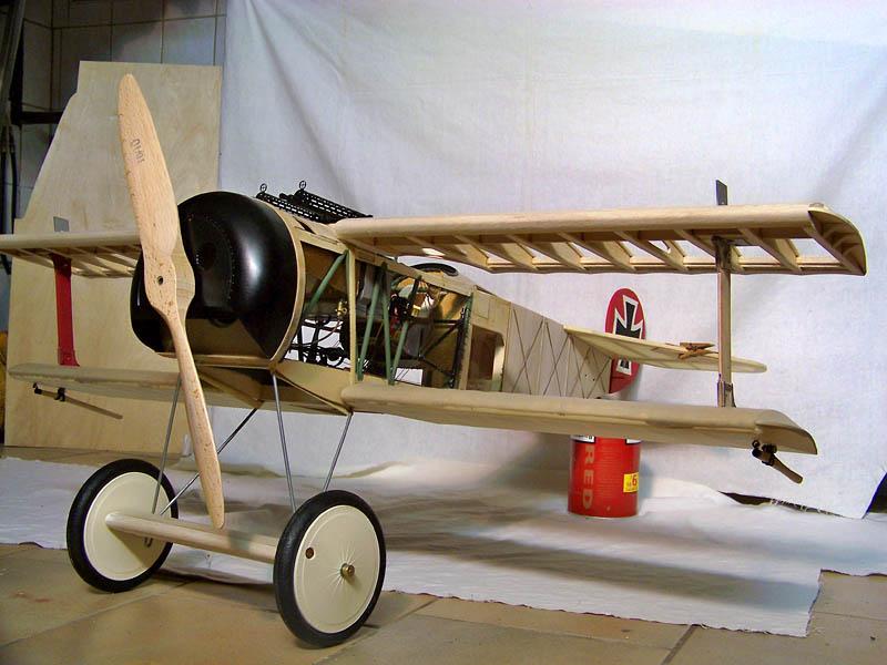 Fokker DR.I  -  DeAgostini-Umbau, M 1:6 Rumpf_19