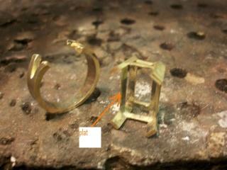 Bague émeraude 8 carats et bts 0,20 carats Carra12