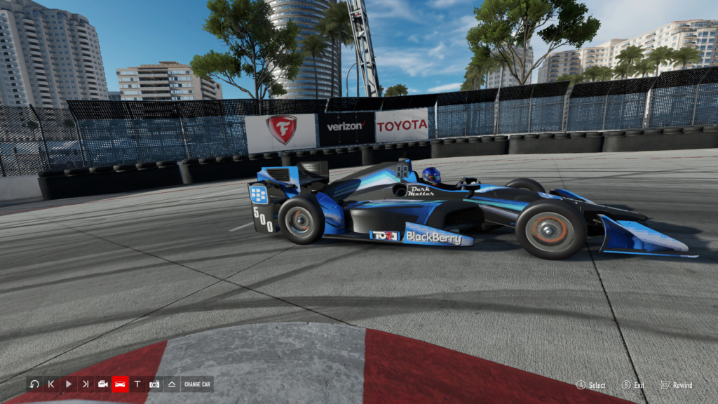 TORA IndyCar Series Season 5 Round 1 - Long Beach - August 18th 8-18-216