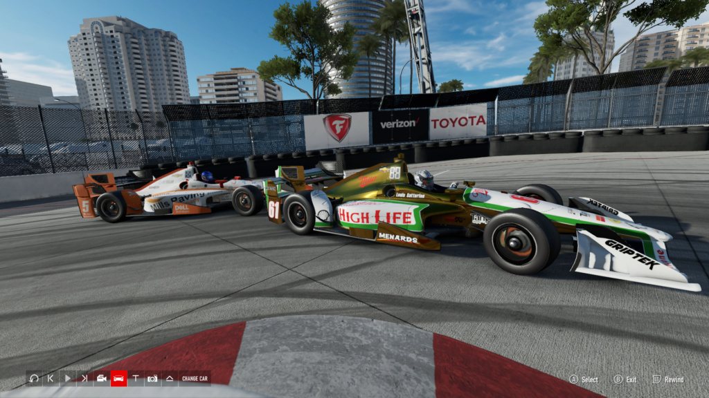 TORA IndyCar Series Season 5 Round 1 - Long Beach - August 18th 8-18-218