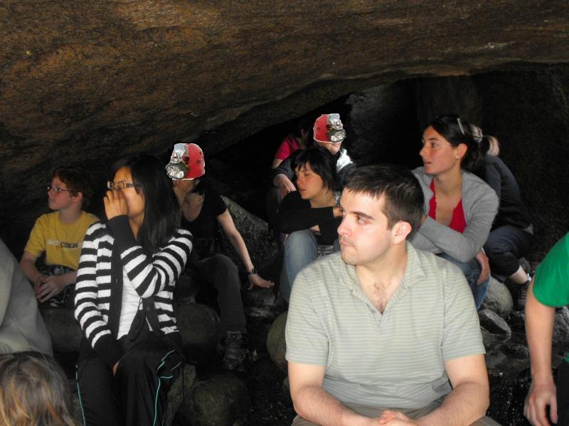 Rencontre t@b 21-23 mai 2001, le compte-rendu Grotte10