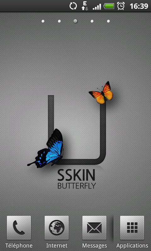 [SOFT] BUTTERFLY : Un launcher pour ceux qui veulent du simple [Gratuit] Screen10