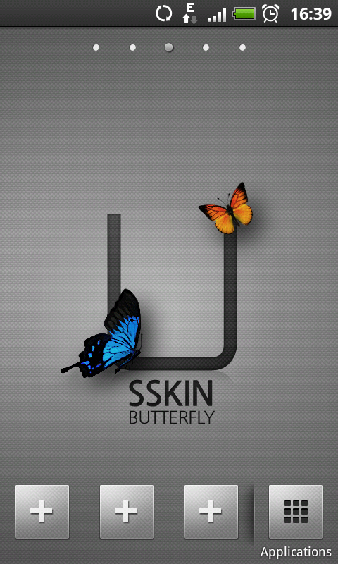 [SOFT] BUTTERFLY : Un launcher pour ceux qui veulent du simple [Gratuit] Screen11