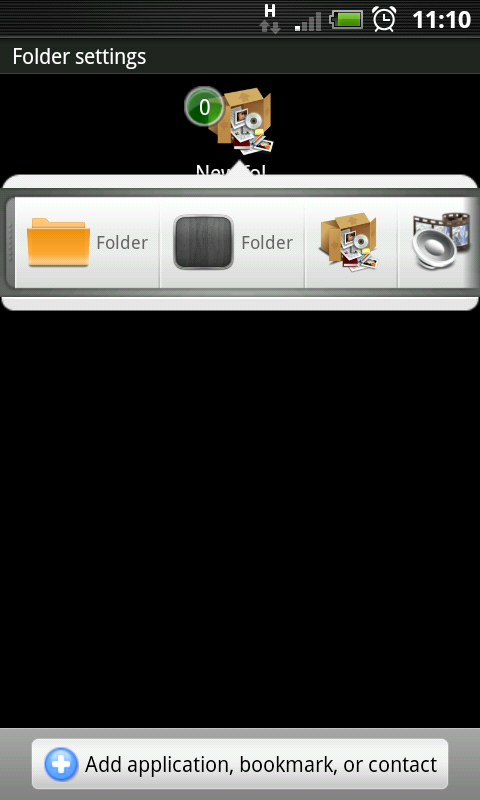 [WIDGET] APPLICATION FOLDER : Ajout de nouveau Folder [Gratuit/Payant] Screen15
