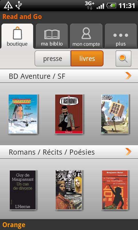 [SOFT] READ AND GO : Kiosque Numérique par Orange [Gratuit] Ss-1-310