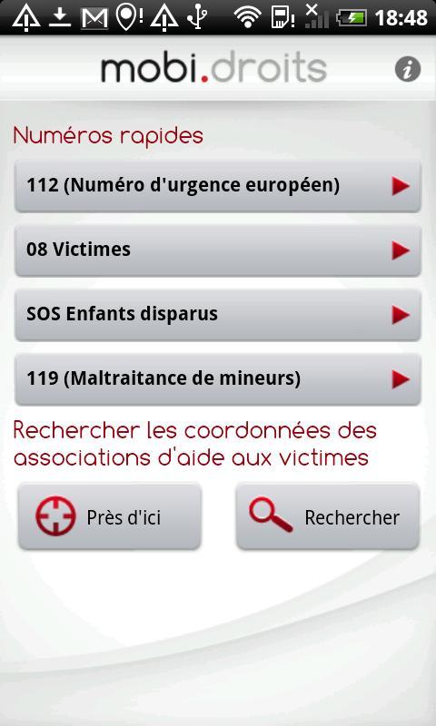 [SOFT] MOBIDROITS : Droit et Justice sur la téléphonie mobile [Gratuit] Ss-1-316