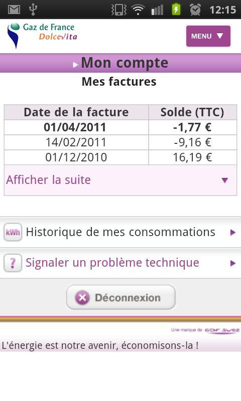 [SOFT] GAZ DE FRANCE DOLCE VITA : Application Officiel [Gratuit] Ss-2-313