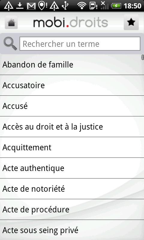[SOFT] MOBIDROITS : Droit et Justice sur la téléphonie mobile [Gratuit] Ss-3-311