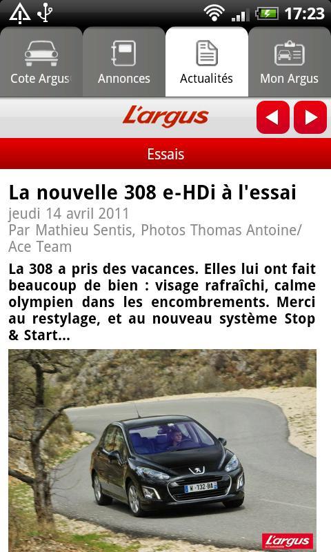 [SOFT] L'ARGUS : L'application pour les cotes des voitures [Gratuit] Ss-5-310