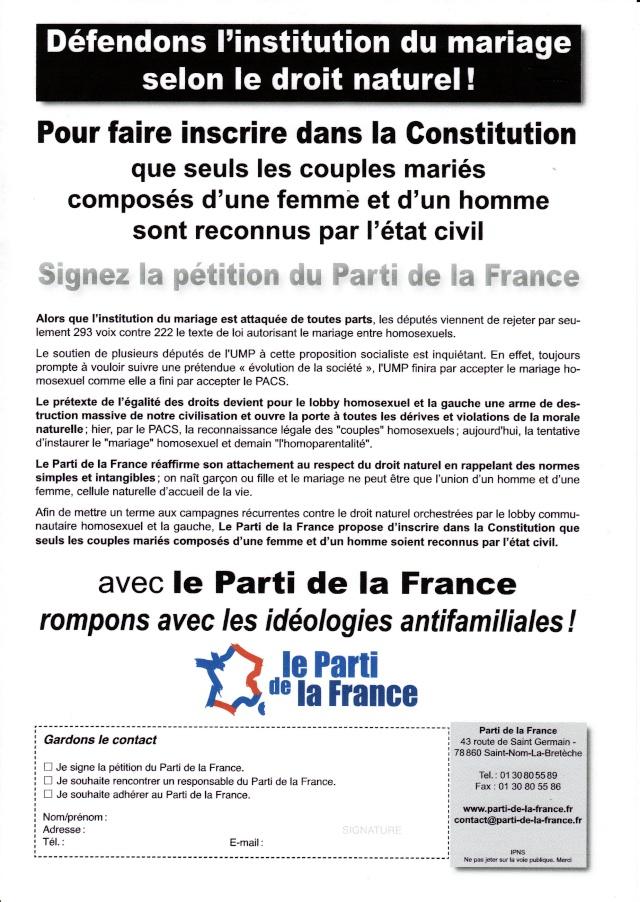 Pétition du PDF contre le mariage homosexuel Tract_10