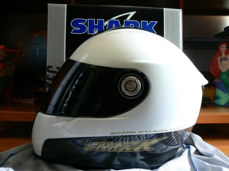 Casque SHARK RSi blanc/carbon taille XS P1090210