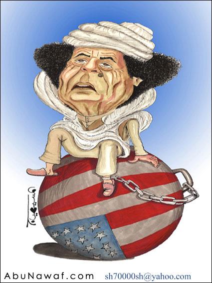 كاريكاتير القذافي 2670j10