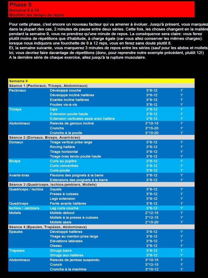 """Programme complet """"Evoluer pour progresser!""""  (en cours) Slide111"""