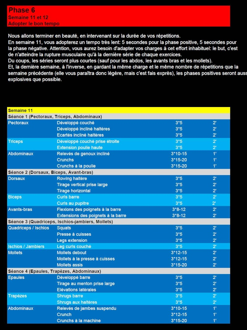 """Programme complet """"Evoluer pour progresser!""""  (en cours) Slide113"""