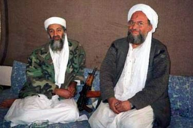 الظواهري يخلف بن لادن بقيادة القاعدة 7607110