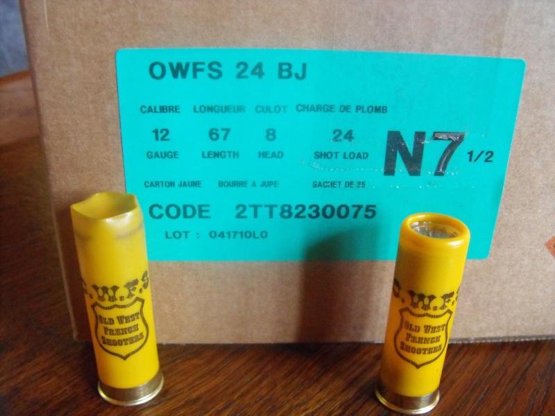 cartouches de 12 OWFS en vente a la boutique Owfs_012