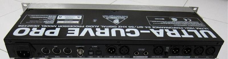 Behringer DEQ2496 Digital Room EQ & Headphone DAC (used)