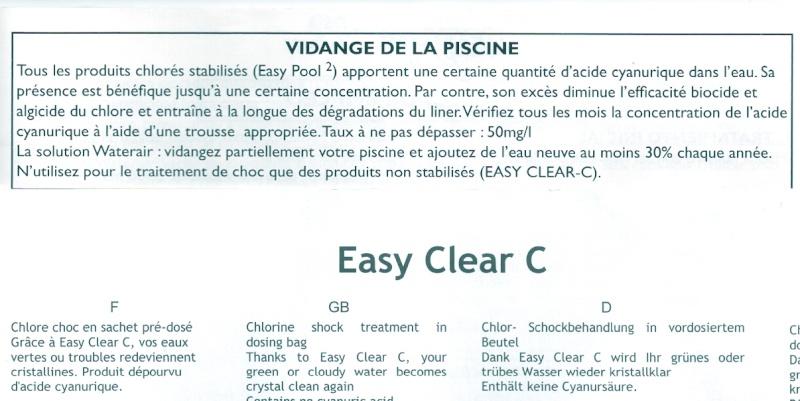 filtres et produits d'entretien de l'eau Easy_c10