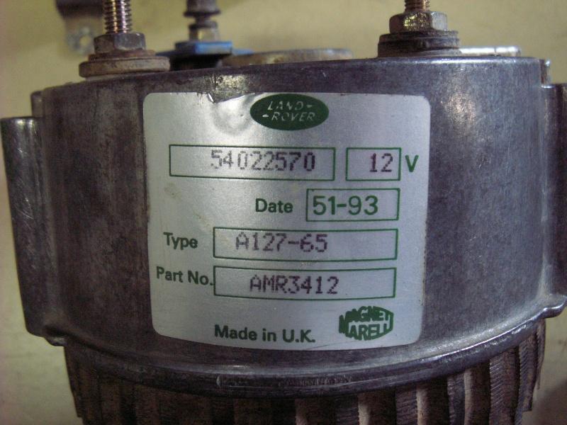 Remise en état alternateur sur moteur 300Tdi ... Pict0718