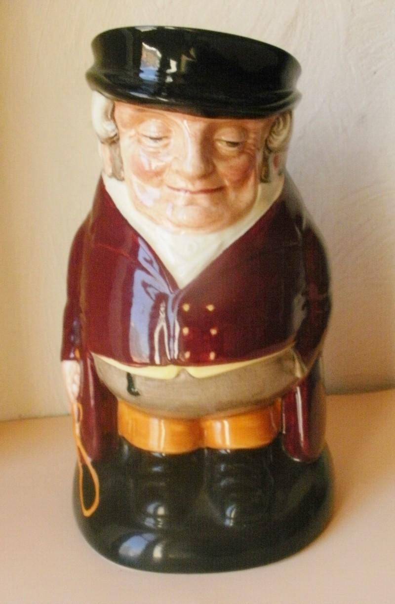 pichet barbotine Royal Doulton - The Huntsman P5010013