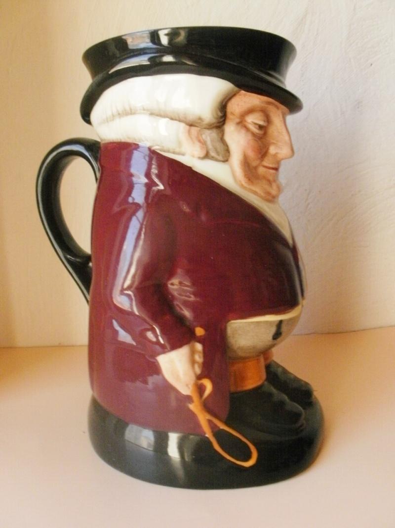 pichet barbotine Royal Doulton - The Huntsman P5010014