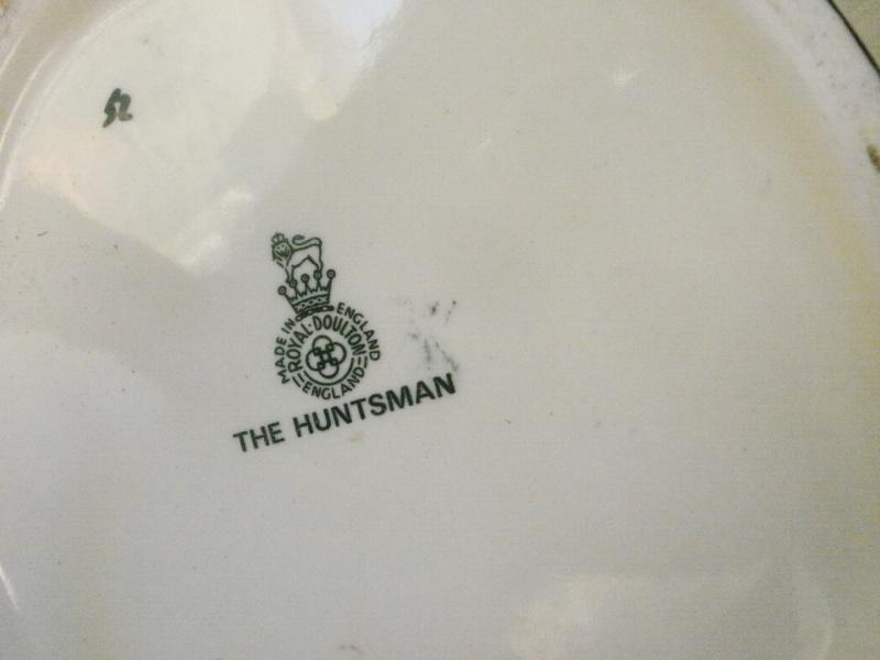 pichet barbotine Royal Doulton - The Huntsman P5010015