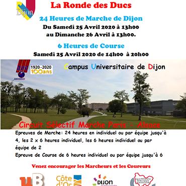 25 & 26 avril 2020 La Ronde Des Ducs DIJON 80339410