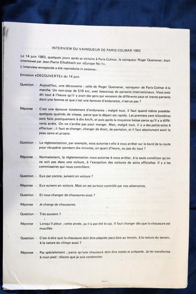 Tout sur ROGER QUEMENER l'empereur de la marche  - Page 5 Dscf0528