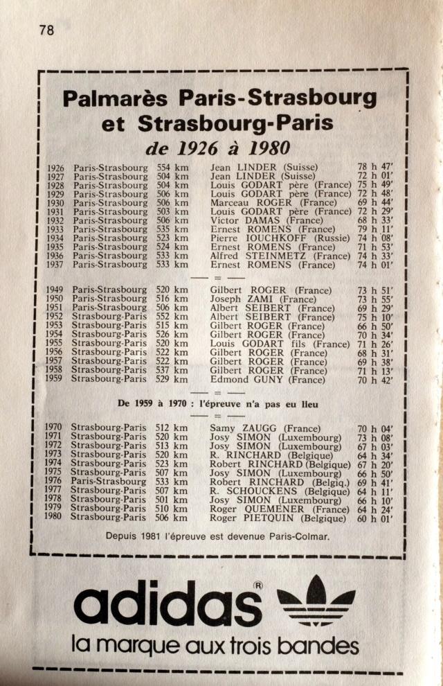 Paris-Strasbourg l'épopée de La Marche Hector MAHAU - Page 2 Dscf1345
