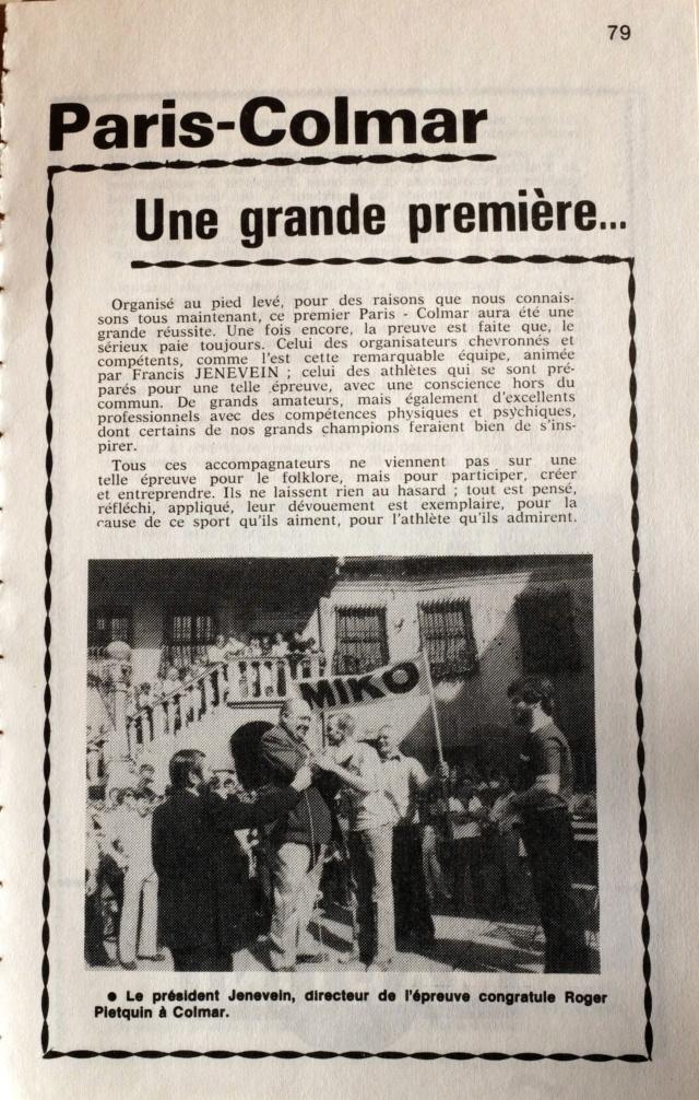 Paris-Strasbourg l'épopée de La Marche Hector MAHAU - Page 2 Dscf1348