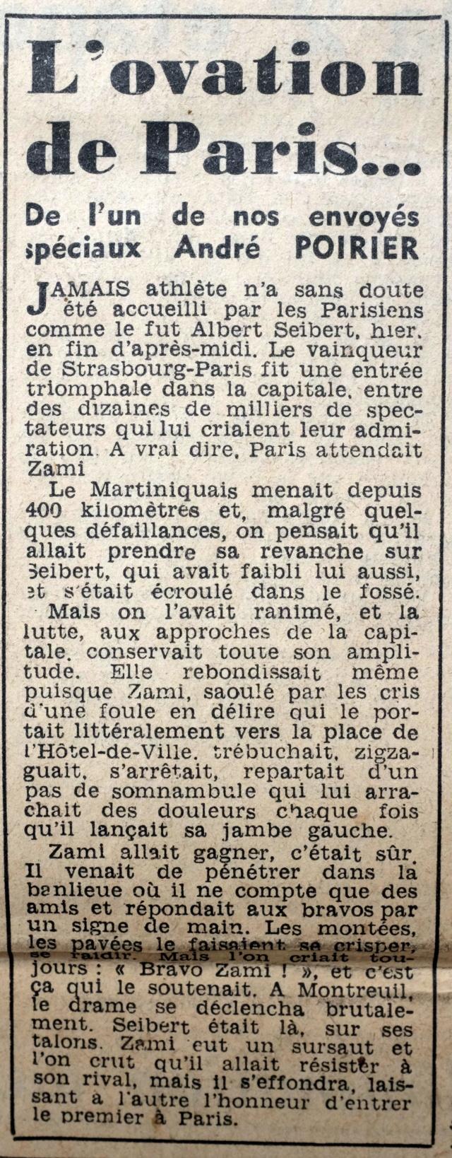 Strasbourg-Paris 1952 Le Parisien Dscf2116