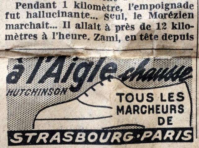 Strasbourg-Paris 1952 Le Parisien Dscf2119