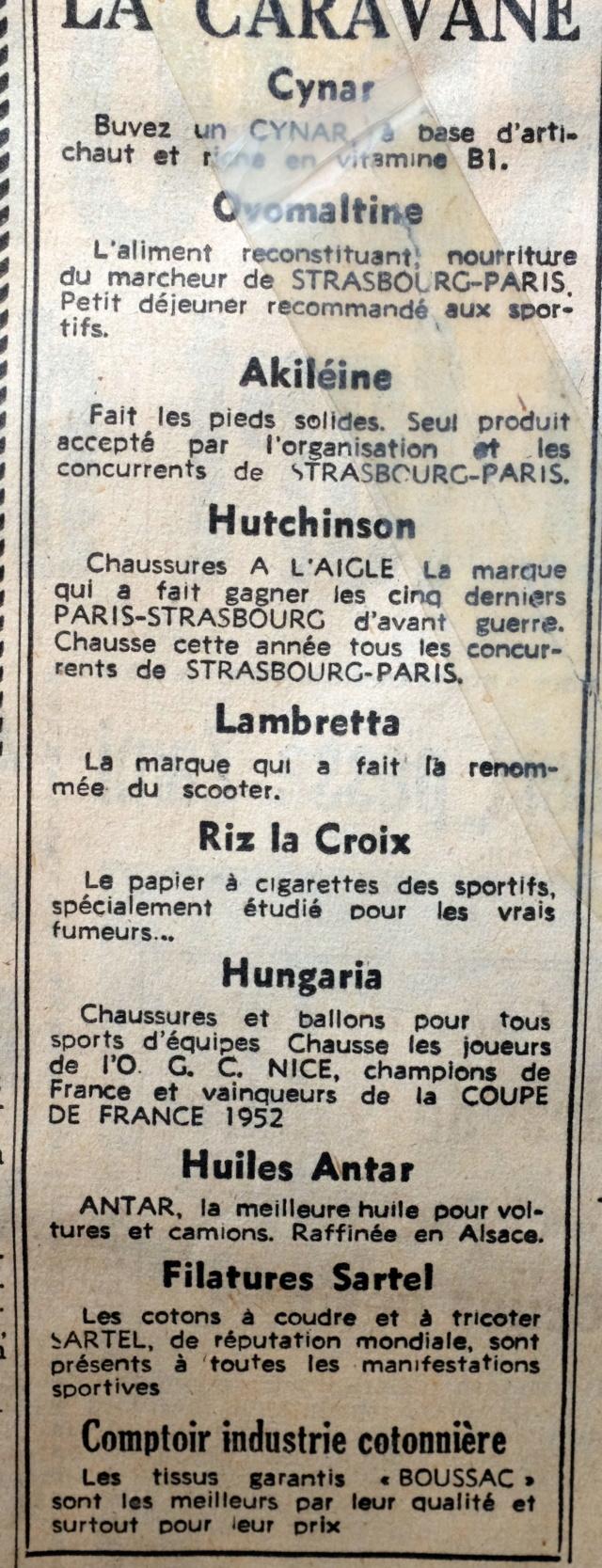 Strasbourg-Paris 1952 Le Parisien Dscf2120
