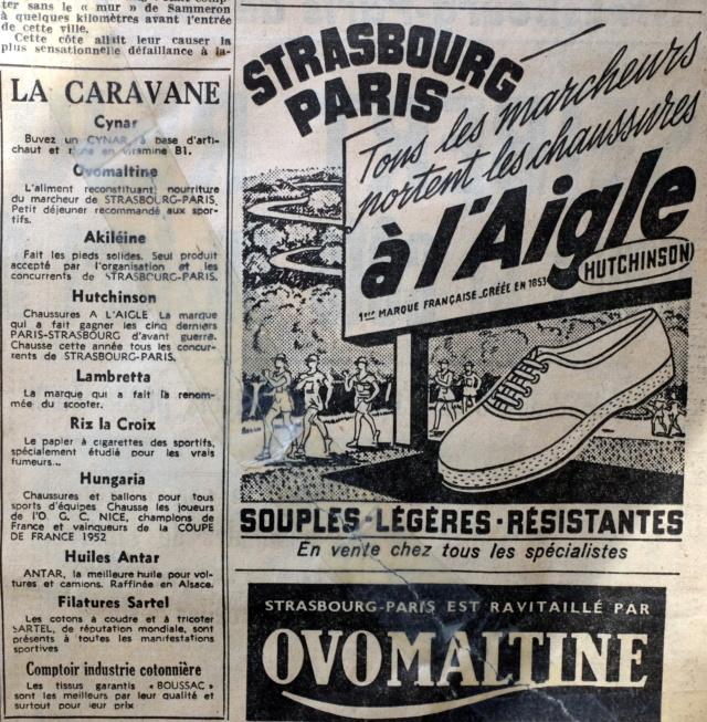 Strasbourg-Paris 1952 Le Parisien Dscf2121